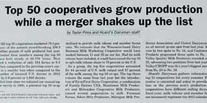 Top 50 Cooperatives Grow Production While a Merger Shakes Up the List
