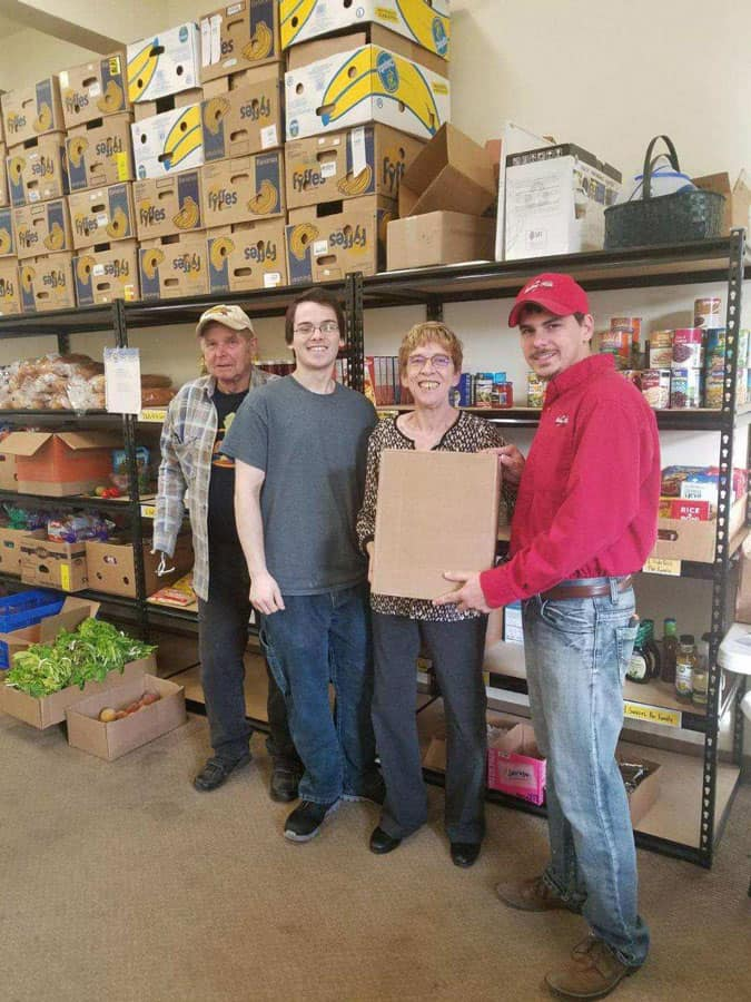 Working together to help those in need